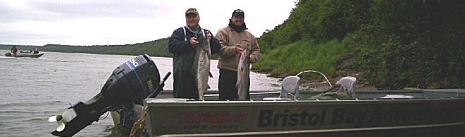 Alaska lodge fishing